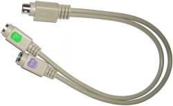 Abbildung PS/2 Kabelpeitsche für PC Engines ALIX 1E