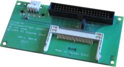 Abbildung CompactFlash nach IDE-Adapter (CF-Disk Standard Floppy)