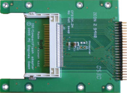 Abbildung CompactFlash nach IDE-Adapter (CF-Disk 44-Pin Extended)