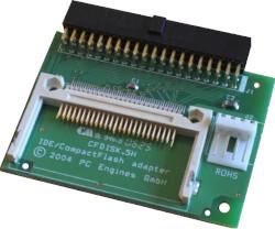 Abbildung CompactFlash nach IDE-Adapter (CF-Disk direkt)