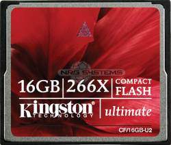 Abbildung Kingston CompactFlash Ultimate 266x 16 GByte