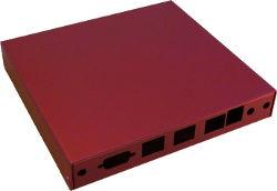 Abbildung Rotes Gehäuse für ALIX.2D3/2D13, APU.1, APU.2, APU.3