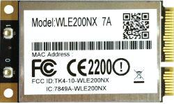Abbildung Compex WLE200NX IEEE 802.11a/b/g/n Mini-PCIe-Karte