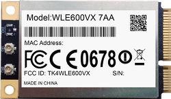 Abbildung Compex WLE600VX IEEE 802.11ac/a/b/g/n Mini-PCIe-Karte