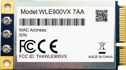 Abbildung Compex WLE900VX IEEE 802.11ac/a/b/g/n Mini-PCIe-Karte