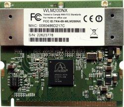 Abbildung Compex WLM200NX IEEE 802.11a/b/g/n Mini-PCIe-Karte