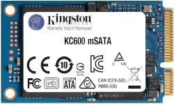 Abbildung Kingston KC600 mSATA SSD