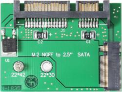 Abbildung M.2 SATA SSD auf SATA Adapter