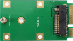 Abbildung M.2 SATA auf mSATA SSD Adapter