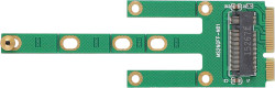 Abbildung M.2 SATA auf mSATA SSD Adapter 2230/2242/2260/2280