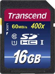Abbildung Transcend SDHC UHS-I/Class 10