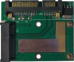 Abbildung mSATA SSD Adapter für APU Boards